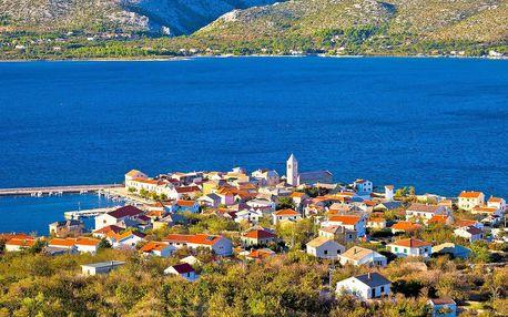 Chorvatsko na 8 dní jen 50 m od moře