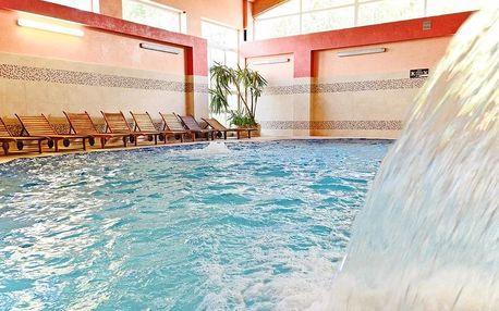 Kudowa-Zdrój, hotel Kudowa**** u českých hranic s wellness