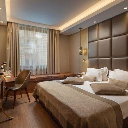 Přepychová wellness dovolená v Continental Hotel Budapest**** v Budapešti