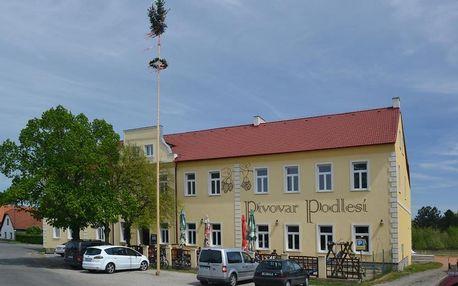 Příbram, Středočeský kraj: Penzion Pivovar Podlesí