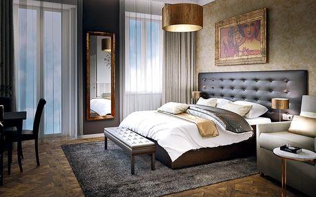 Praha: 4* hotel, snídaně a večerní romance na lodi