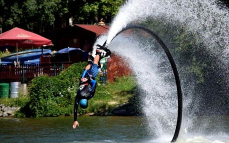 Létání na flyboardu od Flyboard Czech Connection po celé ČR