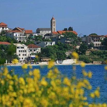 Chorvatsko, Střední Dalmácie, vlastní dopravou na 8 dní