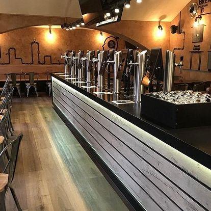 Pivní degustační karta na konkumaci piva v hodnotě až 1 000 do Beer Point Prague