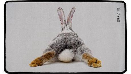 Butter Kings Vnitřní multifunkční rohožka Rabbit, 75 x 45 cm