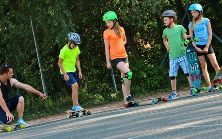 Příměstský longboard tábor pro děti 7–15 let
