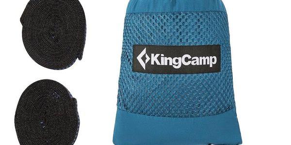 Houpací síť KING CAMP Cool - modrá3