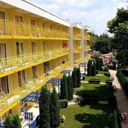 Bulharsko, Albena, vlastní dopravou na 8 dní