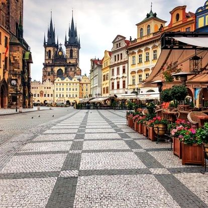 Týdenní pobyt v centru Prahy v Praze