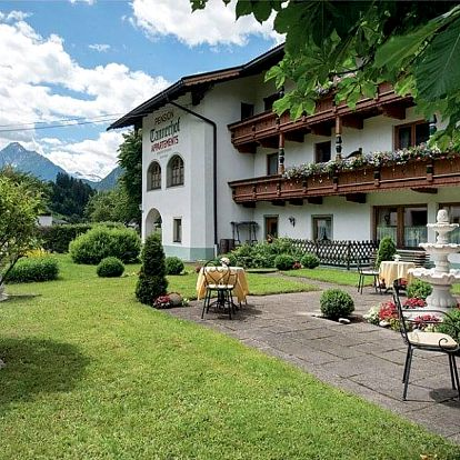 Rakousko, Tyrolsko, vlastní dopravou na 8 dní