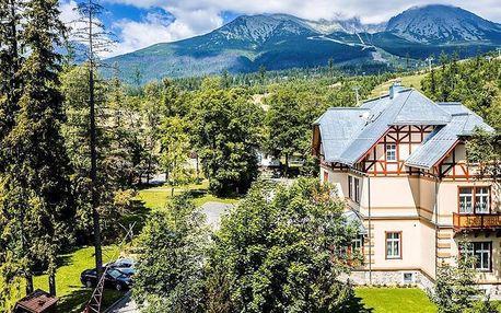 Dovolená v Tatranské Lomnici včetně wellness