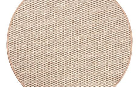 Vopi Kusový koberec Nature hnědá, 120 cm