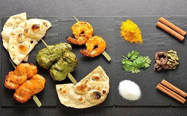 Indická degustace v Zátiší | Praha | celoročně (PO - SO) | 2,5 hodiny2