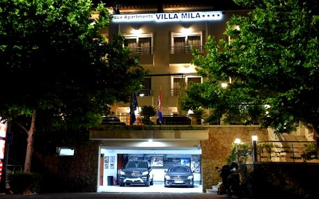 Chorvatsko, Makarská riviéra: Villa Mila