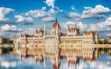 Pohodlí v 4 * Mediterran Hotelu Budapest s wellness