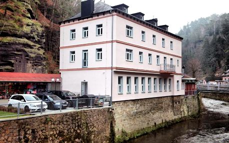 Hřensko, Ústecký kraj: Hotel Kotva