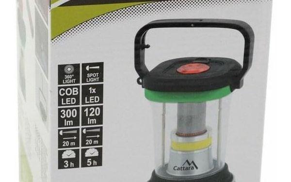 Svítilna na dálkové ovládání Cattara LED 300lm 131502