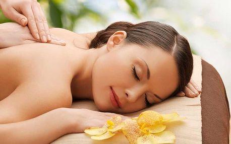 Rehabilitačně–relaxační masáž zad a šíje