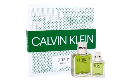 Calvin Klein Eternity For Men dárková kazeta pro muže parfémovaná voda 100 ml + parfémovaná voda 30 ml