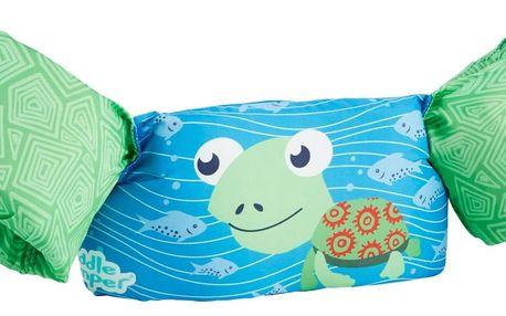 Plovací top SEVYLOR plaváček modro-zelený - želva