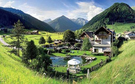 Rakousko, Korutany, vlastní dopravou na 8 dní
