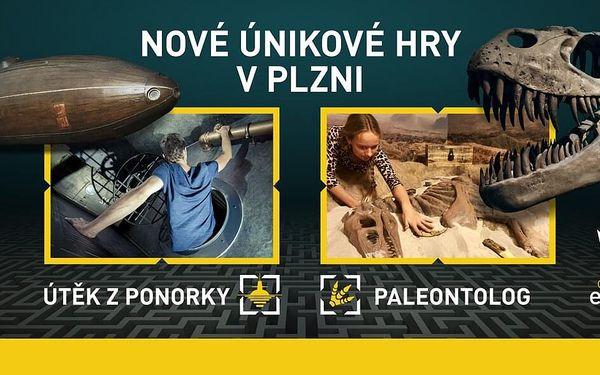 Úniková hra pro 3–5 hráčů2