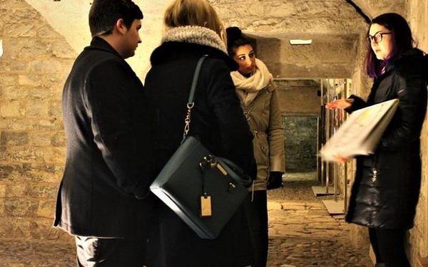 Strašidelná prohlídka podzemí, 60 - 90 min, počet osob: 1 senior, Praha (Praha)3