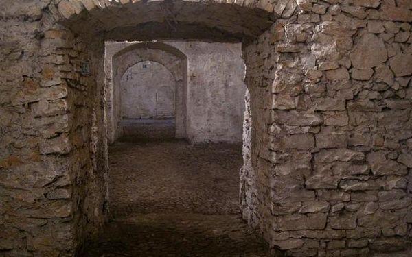 Strašidelná prohlídka podzemí, 60 - 90 min, počet osob: 1 senior, Praha (Praha)5