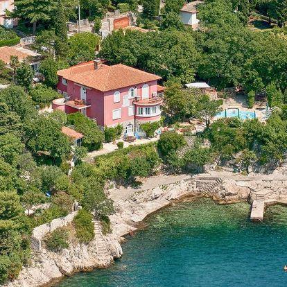 Studia Villa Dora v Chorvatsku s vlastní zátokou
