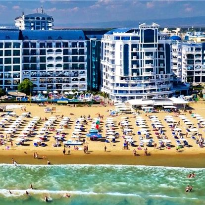 Bulharsko, Slunečné pobřeží, vlastní dopravou na 8 dní