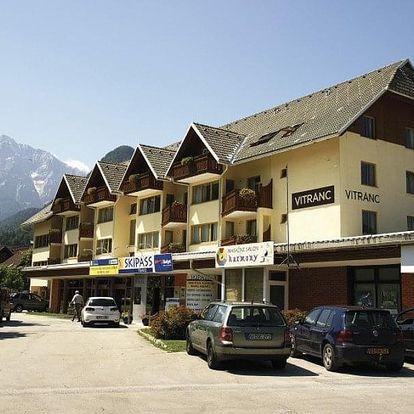 Slovinsko, Julské Alpy, vlastní dopravou na 8 dní