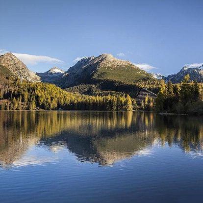 Slovensko, Vysoké Tatry, vlastní dopravou na 8 dní