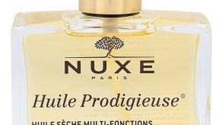 NUXE Huile Prodigieuse Multi-Purpose Dry Oil 100 ml multifunkční zkrášlující suchý olej na obličej, tělo a vlasy pro ženy