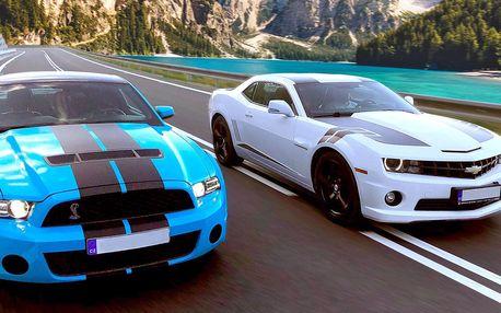 Zážitková jízda ve sporťáku: Mustang či Camaro