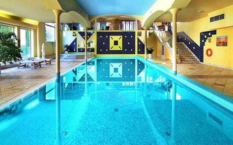 Mimořádně oblíbený 4 * Top Hotel Praha s wellness