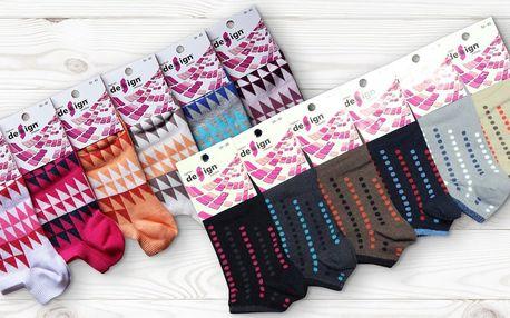 6 párů ponožek z bavlny i bambusu: 22 variant