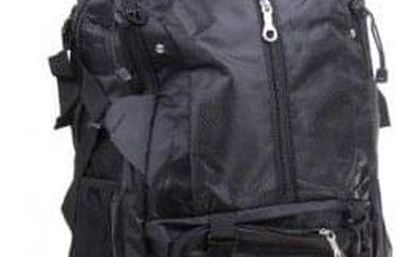 Hosen batoh outdoorový černý 65l vzor2