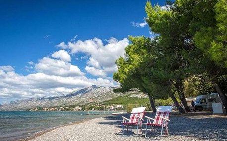 Chorvatsko, Severní Dalmácie, vlastní dopravou na 5 dní