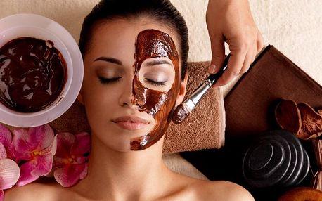 Kosmetická péče s vůní a chutí čokolády a kávy