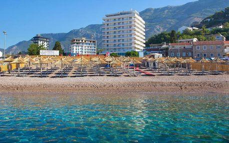 Týden u moře v Černé Hoře v 4* hotelu Sato