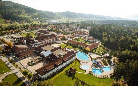 Slovinsko, Terme Zreče, vlastní dopravou na 4 dny