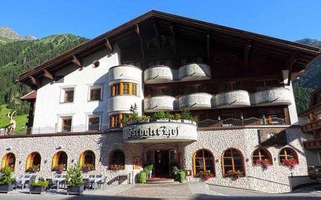Rakousko, Tyrolsko, vlastní dopravou na 4 dny