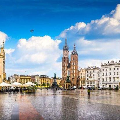 Krakov v blízkosti historického centra v Hotelu Nowa Panorama *** se slevou na vstup do aquaparku a polopenzí