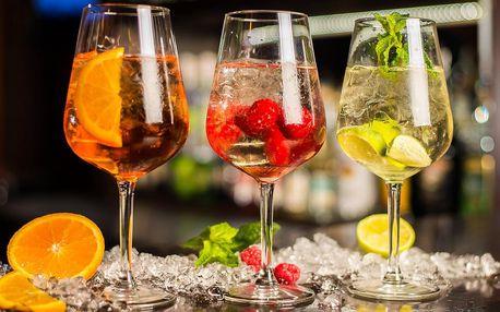Spritz nebo gin & tonic podle výběru pro 1 osobu