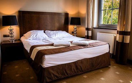 Wellness pobyt s polopenzí v hotelu Spa Medical Dwór Elizy v Polsku