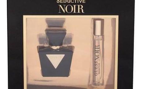 GUESS Seductive Noir dárková kazeta pro ženy toaletní voda 30 ml + toaletní voda 15 ml