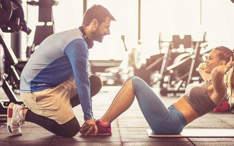 8 lekcí s fitness trenérem a stravovací plán