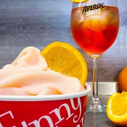 Unikátní zmrzlina Aperol Spritz i oblíbený drink