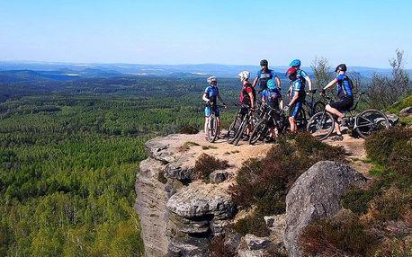 Mountain bike tour pro celou partu v Českém Švýcarsku od Active pointu