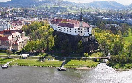 Prohlídka Děčína i zámku s průvodcem